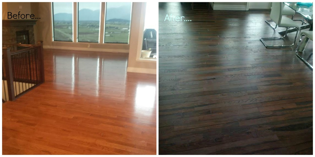 How to refinish hardwood floors interior design Chilliwack