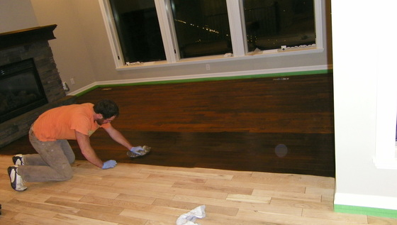 How to refinish hardwood floors Maple Ridge, BC